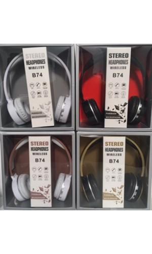 Funk Kopfhörer B74 verschiedene schöne Designe