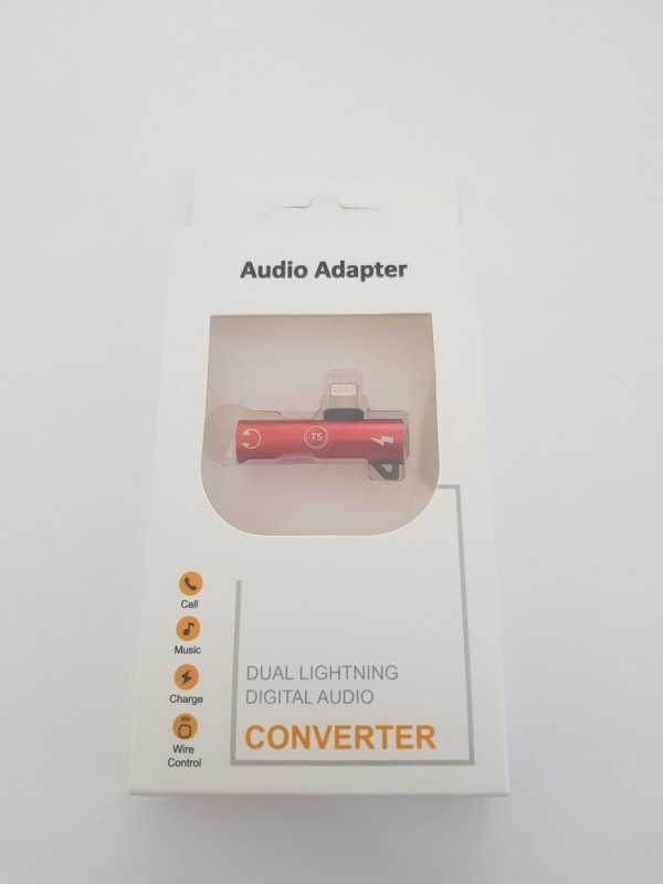 Dual Lightning Audio Adapter TS-AL219