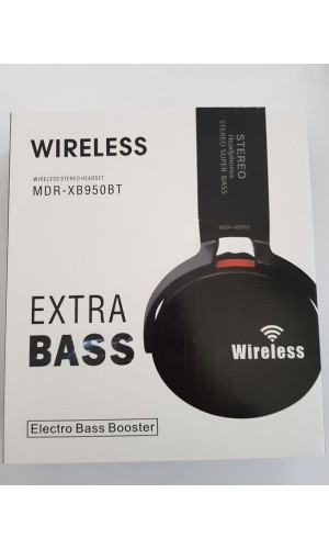 Wireless Stereo Headset MDR-XB950BT