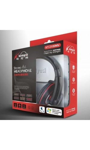 Koniycoi kt-2100mv Hohe Qualität Stereo-Kopfhörer mit Mikrofon für PC